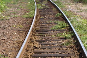 Train Tracks in Boulder City, NV