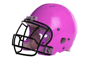 Pink Football Helmet in Boulder City, NV
