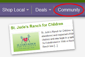 Community Feature on Boulder City Social