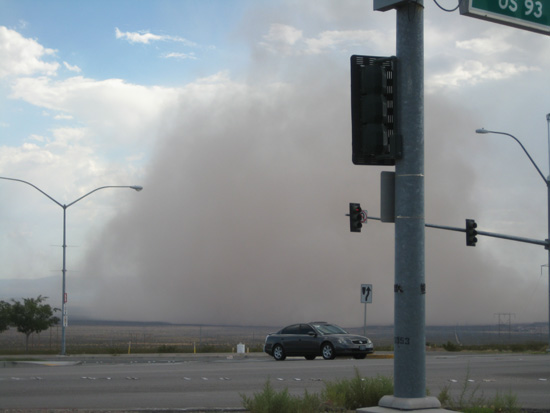 Haboob in BoulderCity, Nevada 1