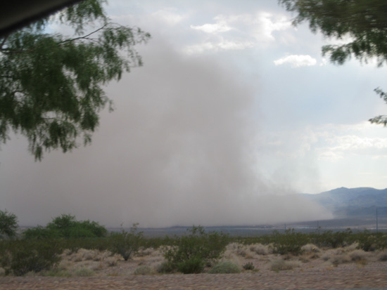 Haboob in BoulderCity, Nevada 2