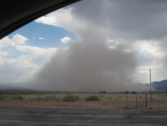 Haboob in BoulderCity, Nevada 3