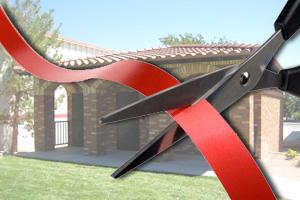 Ribbon Cutting Public Restrooms in Boulder City, NV