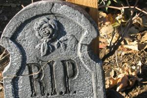 RIP Gravestone in Boulder City, NV
