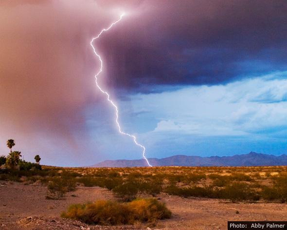 Fan Photo by Abby Palmer - Lightning Strike