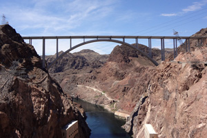 O'Callaghan Tillman Bridge near Boulder City, NV