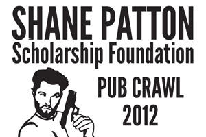 shane Patton Pub Crawl 2012