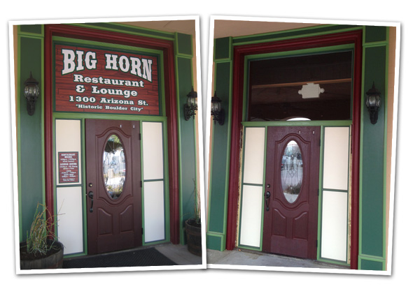 Big Horn Restaurant Closed in Boulder City, Nevada