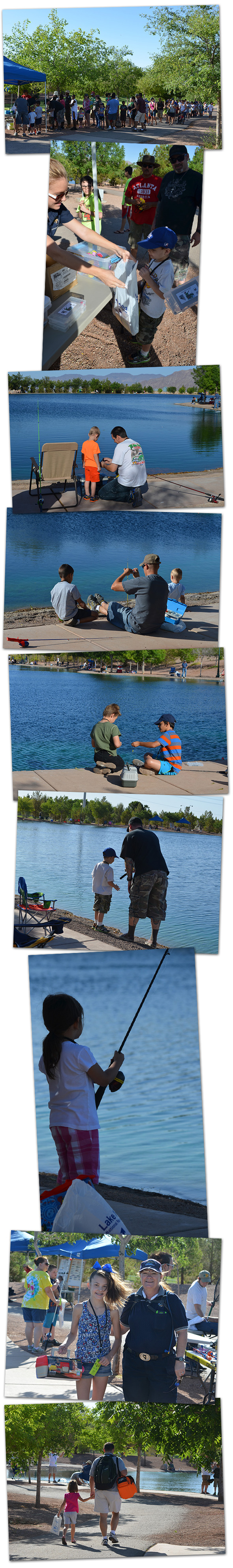 Adorable photos from free fishing day boulder city home for Free fishing day