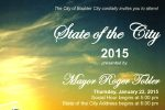 State Of The City 2015 for Boulder City, Nevada