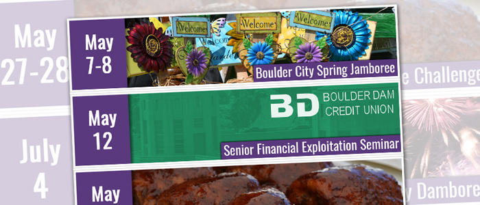 Event Advertising on Boulder City Social