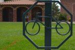 Bike Stands in Boulder City, Nevada