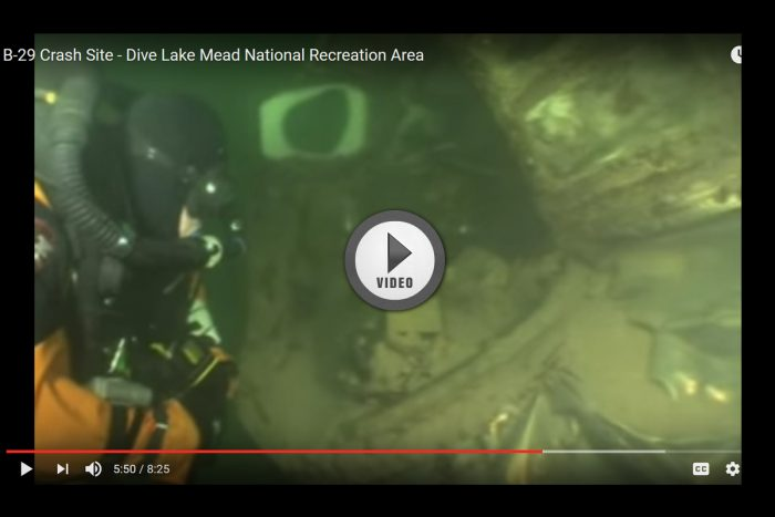 Diving Tour of Lake Mead's B-29 Crash Site
