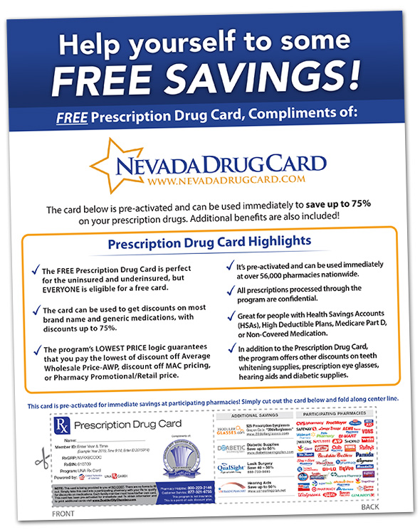 prescription drug savings wnevada drug card - Singlecare Prescription Card