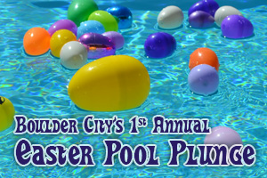 Easter Pool Plunge in Boulder City, Nevada
