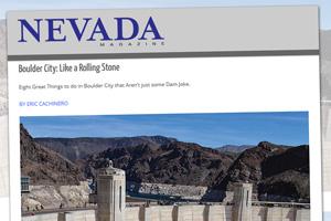 Nevada Magazine - Like A Rolling Stone
