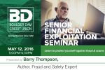 Senior Financial Exploitation Seminar