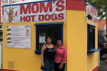 Mom's Hot Dogs Now Open