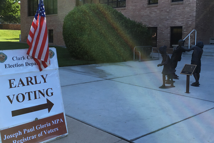 Early Voting in Boulder City For 2018 Elections