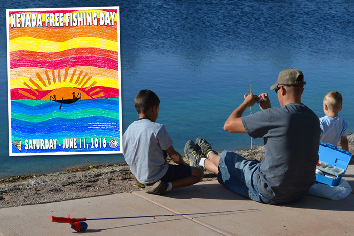 Free entrance to nv state parks free fishing day 2016 for Free fishing day