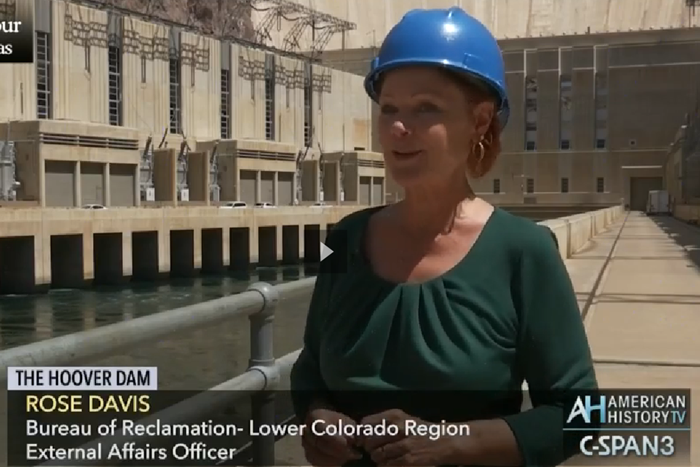 cSpan Cities Tour Hoover Dam