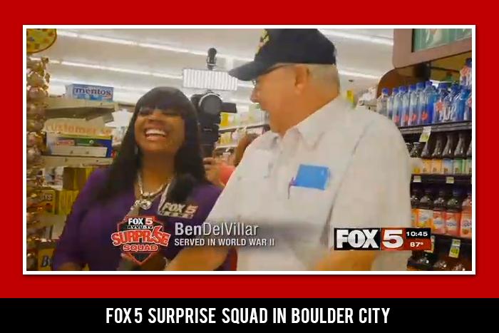Fox 5 Surprise Squad Comes to Boulder City