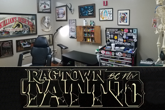 Ragtown Tattoo in Boulder City, Nevada