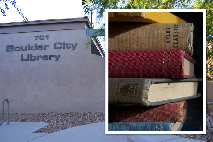 Upcoming Boulder City Library Book Sale
