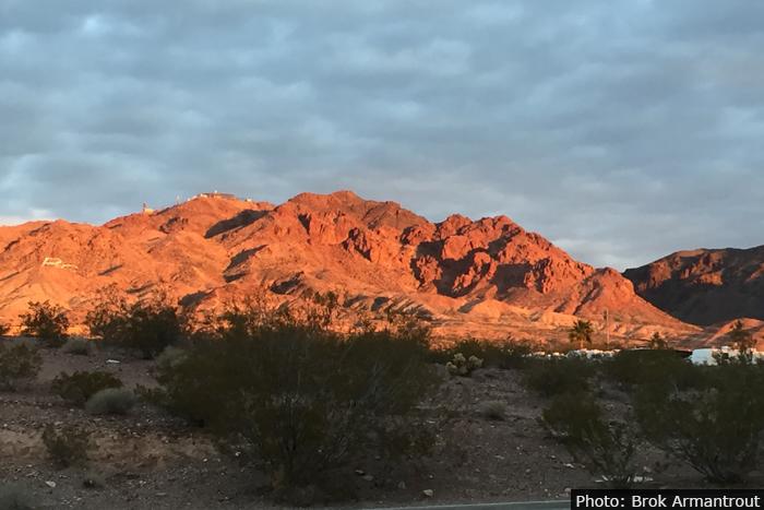 Fan Photo: Sunrise on Mountain by Brok Armantrout