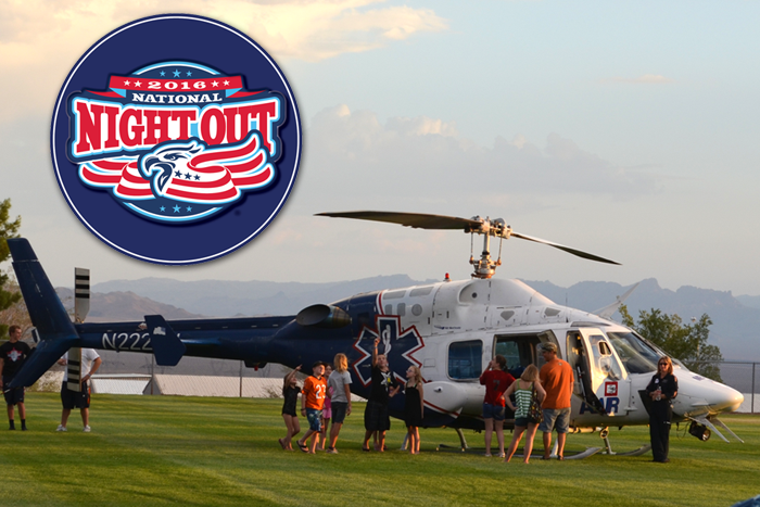 National Night Out 2016 in Boulder City, Nevada