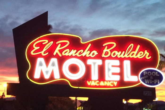 El Rancho Boulder Motel ~ Housekeeping and Front Desk
