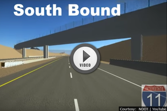 Driving To & From Boulder City in Virtual Reality