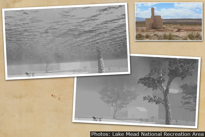 """St. Thomas Video: """"A Doomed Town Rises"""" from Lake Mead"""