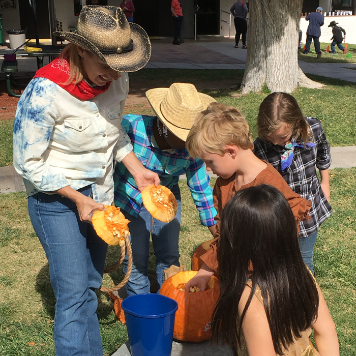 Counting Pumpkin Seeds in Washoe