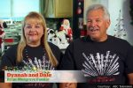 Dale and Dyanah from Boulder City's 5th Street Christmas House