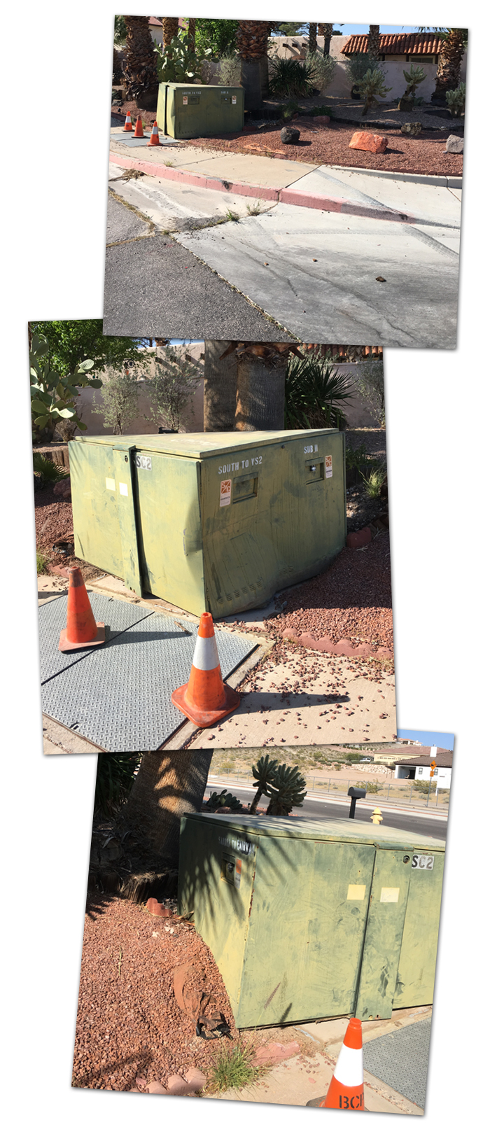 Electric Box Collision in Boulder City, NV