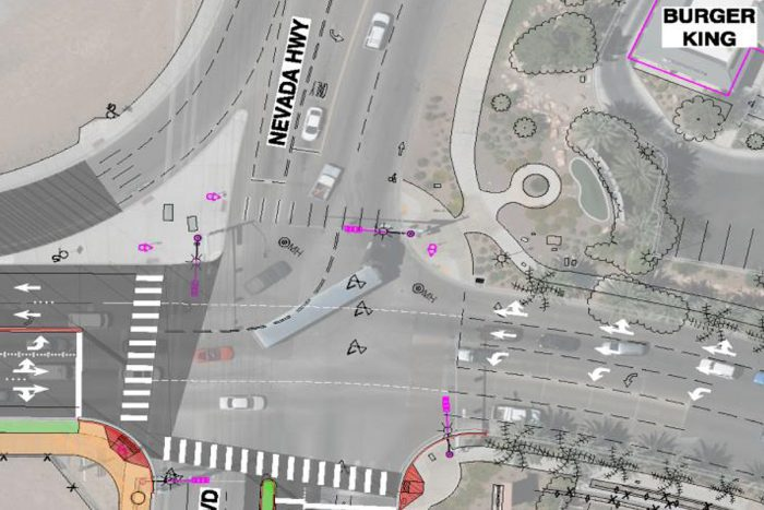 Expansion to Two Westbound Lanes at Buchanan & Nevada Way