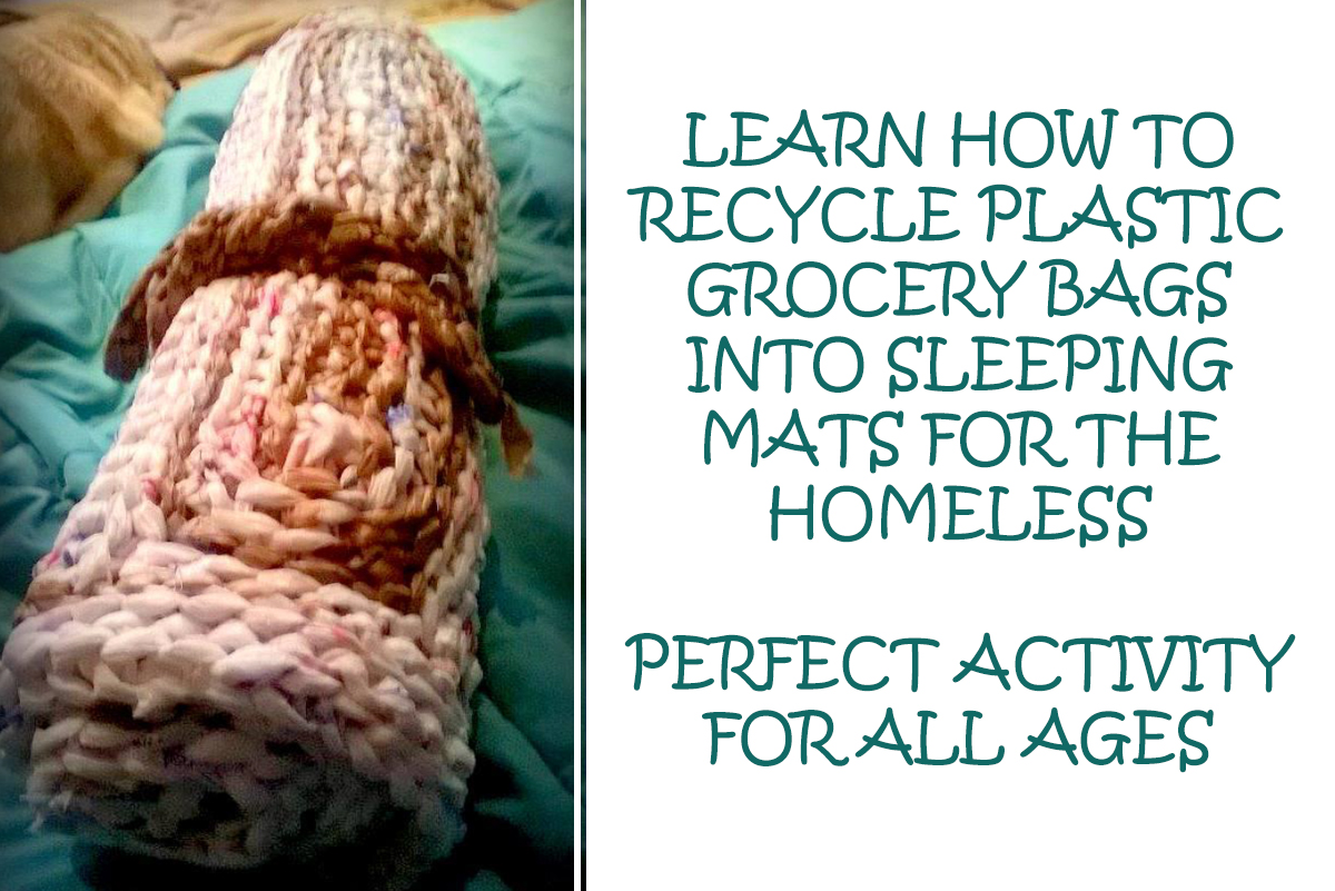 Learn To Recycle Grocery Store Bags Into Mats For The