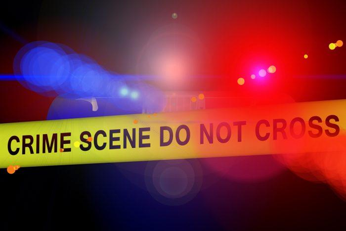 Crime Scene Tape Police Siren Lights