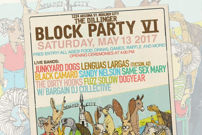 The Dillinger Block Party 2017