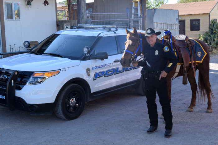 Boulder City's New Mounted Police Unit!