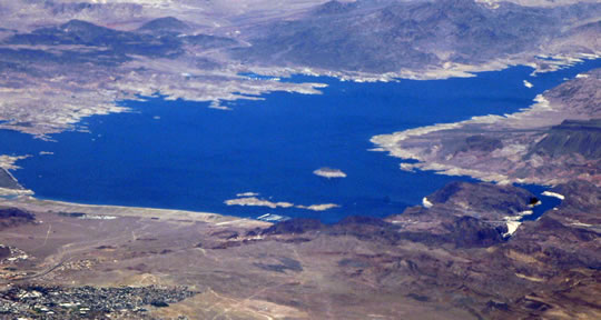 lake mead, boulder city, hoover dam,