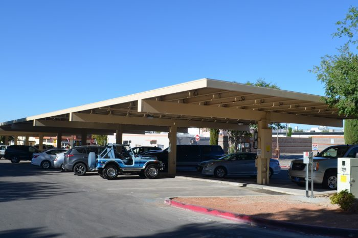 Covered Solar Parking Structure Completed!