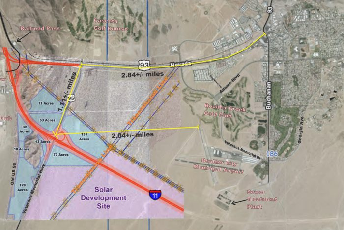 City Hall Posts Official Information on the I-11/US 95 Interchange