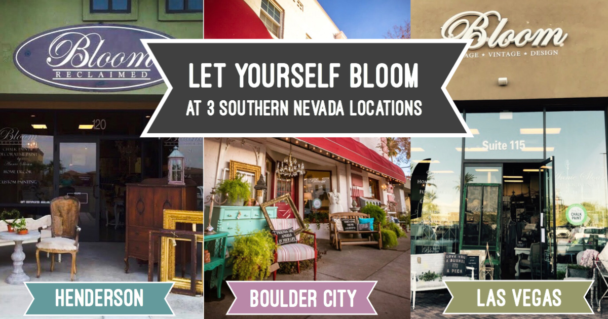 Bloom Locations Boulder City, Nevada