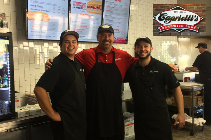 Capriotti's Sandwich Shop Has Re-opened!