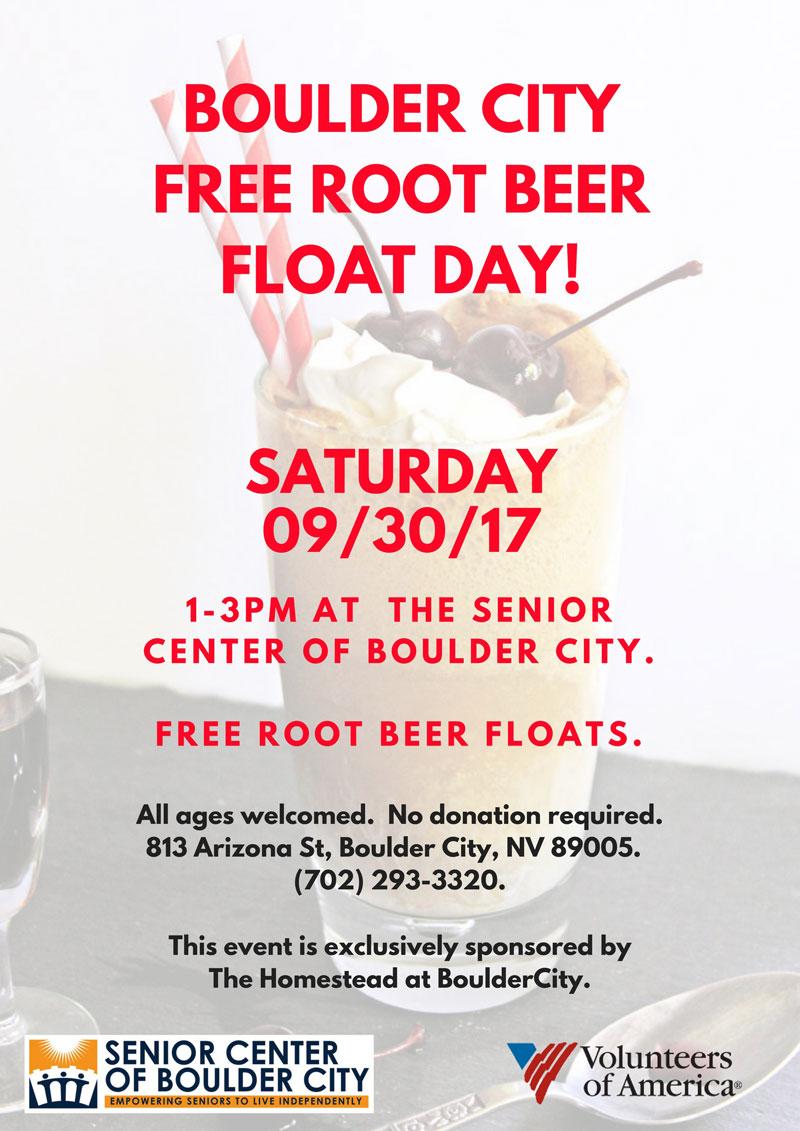 Homestead Root Beer Float Flyer