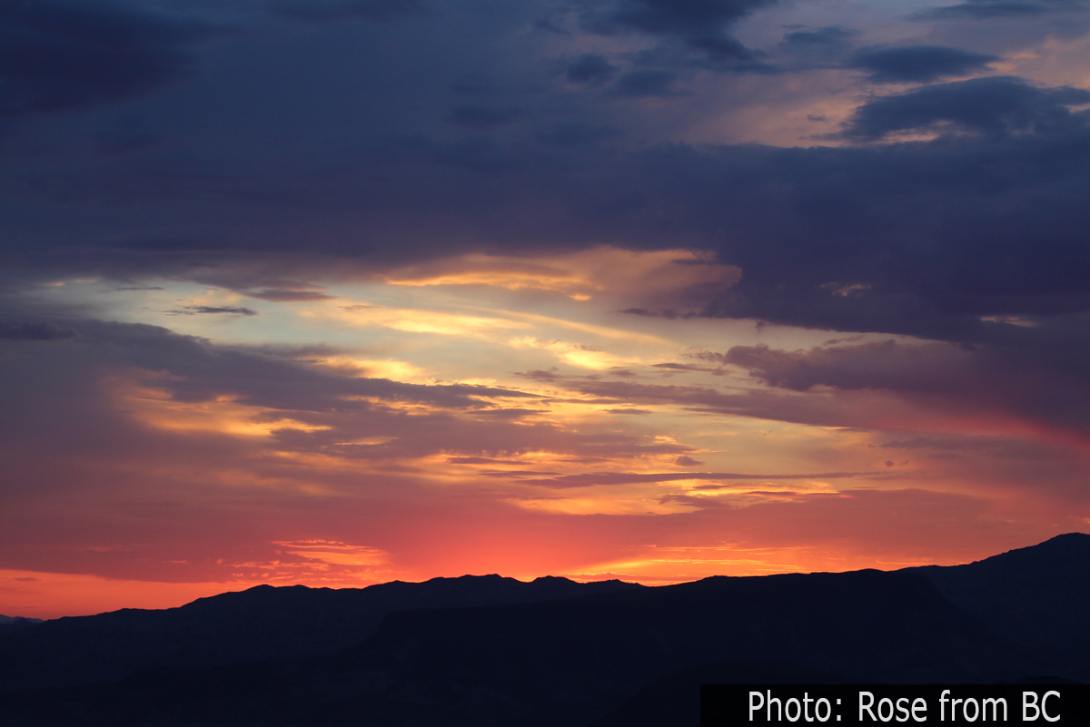 Fan Photo: Golden Sunrise - Boulder City: Home of Hoover ...