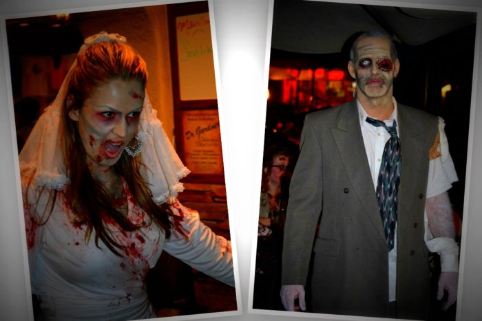 Zombie's Rule The Night October 21st and Benefit Emergency Aid