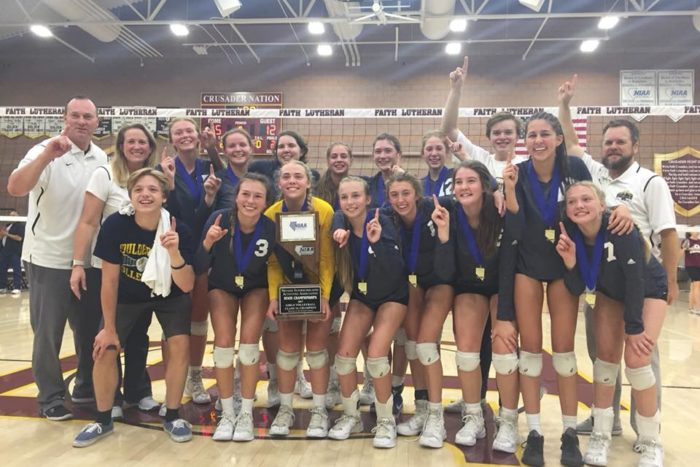 BCHS Volley Ball Champs Boulder City, Nevada